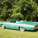 George Gross' 1963 Thunderbird. This car was on the cover of our 2009 big bird catalog.