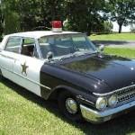 Here comes Barny. Jan Moeller's police car.