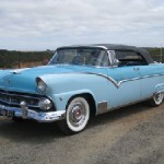 The Sunliner from down under! 1955 Sunliner Thank you Peter.