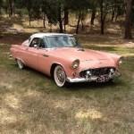Scott Mahoney's 1956 Thunderbird in Australia.