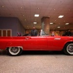 Zaki El Guirziri from Egypt owns two Ford Thunderbirds. This is his show winning 1957.
