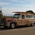 How cool is this!!! Steve French's new project. 1954 country squire woody wagon.