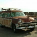 Unrestored original 1954 Woodie, found in San Diego Ca.