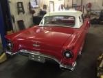 Back Side Of Alan Riley's Nice 1957 Thunderbird