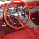 Ruby's beautiful interior. 1963 Thunderbird