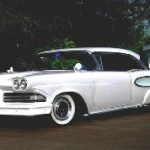 Front View Of Harry Carter's 1958 Edsel