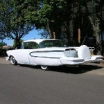 Left Veiw Of Harry Carter's 1958 Edsel