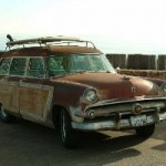 Unrestored original 1954 Woodie, found in San Diego Ca.