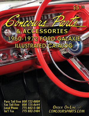 1960-1972 Ford Galaxie Illustrated Catalog