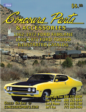 1962-1972 Ford Fairlane/1968-1971 Ford Torion Illustrated Catalog