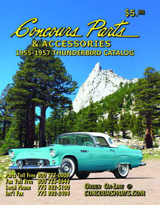 Ford Restoration Parts for Classic Thunderbird, Cars