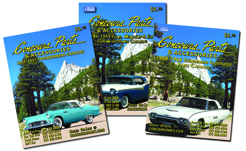 Ford Restoration Parts for Clic Thunderbird, Cars & Trucks ... on